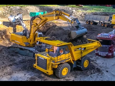 RC trucks & excavators in ACTION! Awesome R/C models! - UCZQRVHvPaV4DRn3tp8qrh7A