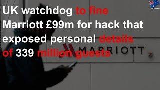 Marriott facing $178m fine for data breach