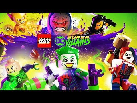 LEGO DC SUPER VILLAINS Movie (Cutscenes Only) 1080p 60FPS