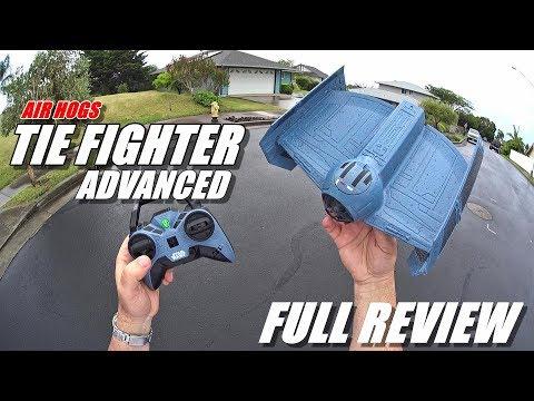 Star Wars Tie Fighter Advanced - Full Review - [Unboxing, Flight/CRASH Test, Pros & Cons] - UCVQWy-DTLpRqnuA17WZkjRQ
