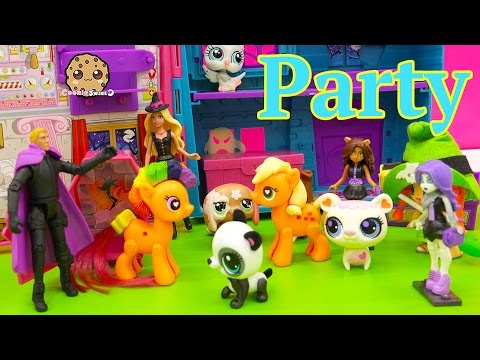 My Little Pony Apple Jack Goes To After Halloween Costume Party with Chad Alan Magician Video - UCelMeixAOTs2OQAAi9wU8-g
