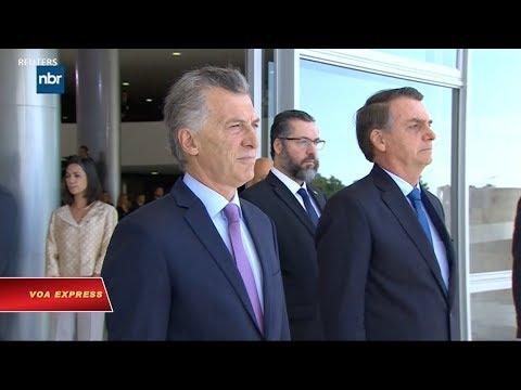 Brazil, Argentina tăng sức ép lên Tổng thống Venezuela (VOA)