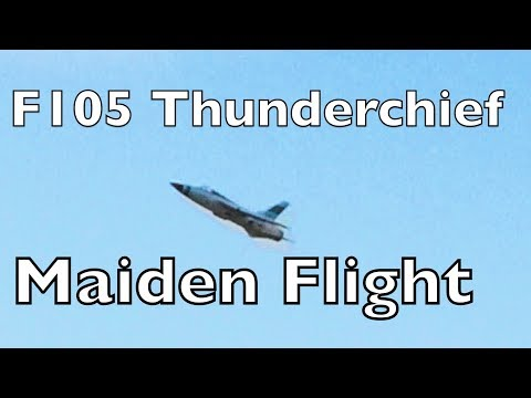 F105 Thunderchief Maiden Flight - UCTa02ZJeR5PwNZK5Ls3EQGQ