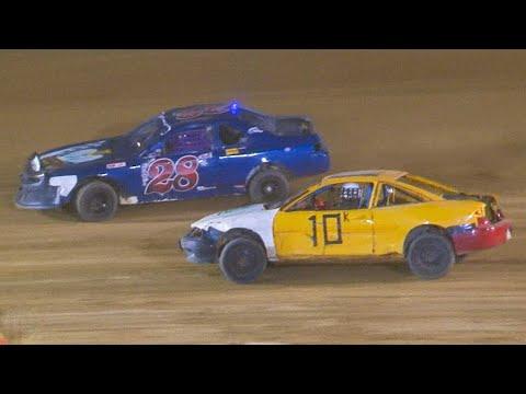 Mini Stock Feature | Bradford Speedway | 8-15-21 - dirt track racing video image