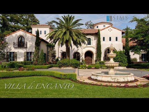 Sims Luxury Builders   Villa de Encanto   Houston Texas