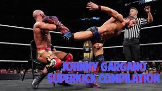 Johnny Gargano Superkick Compilation
