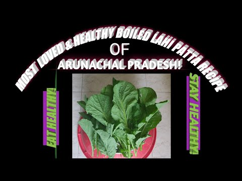 Arunachal Style Lai Patta Boiled Recipe With Bamboo Shoot || Most Loved Lai Patta Boiled Recipe!