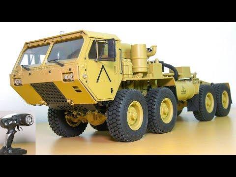 FANTASTIC RC TRUCK M983 HEMTT OSHKOSH 8x8 UNBOXING!! RC CRAWLER AMEWI 22390 HG P802 - UCOM2W7YxiXPtKobhrYasZDg