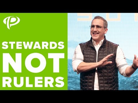 Stewards Not Rulers // Pastor Michael Turner