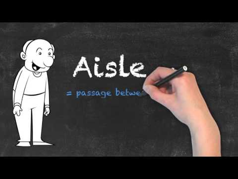 Aisle vs Isle - English Grammar - Teaching Tips