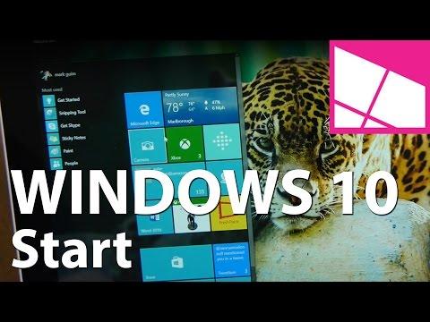Windows 10 Review: Start - UCqv3b5EIRz-ZqBzUeEH7BKQ