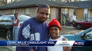 Cedric Willis Candlelight Vigil