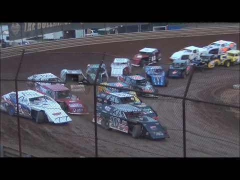 The UMP Modified feature from the Tyler County Speedway near Middlebourne, West Virginia on June 29, 2019. www.OVDTR.com - dirt track racing video image