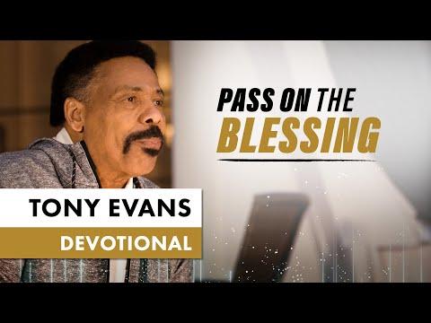 Pass On Divine Favor - Tony Evans Devotional