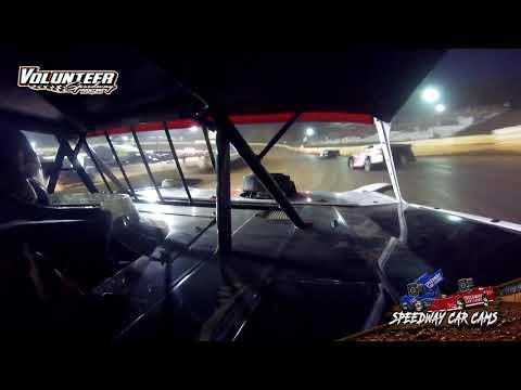 #97 Michael Chilton - Super Late Model - 8-1-21 Volunteer Speedway - In-Car Camera - dirt track racing video image