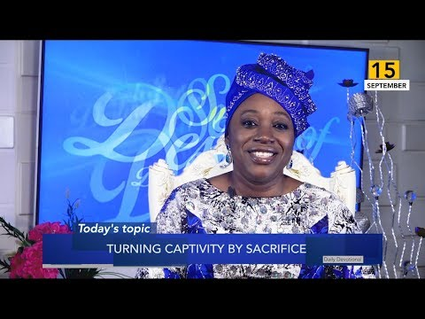 Dr Becky Paul-Enenche - SEEDS OF DESTINY  SUNDAY 15TH SEPTEMBER, 2019
