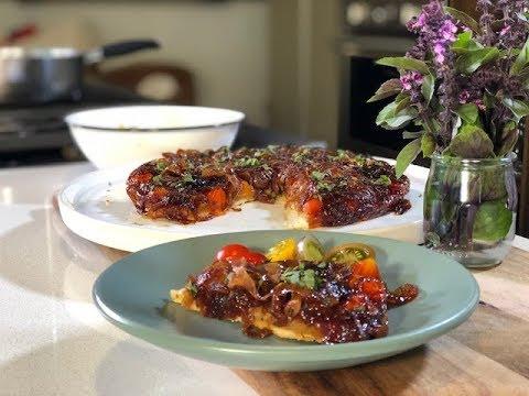 Tarta vegana de tomate - Recetas para Navidad y fin de año - UCvg_5WAbGznrT5qMZjaXFGA
