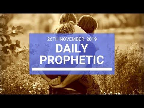 Daily Prophetic 26 November Word 3
