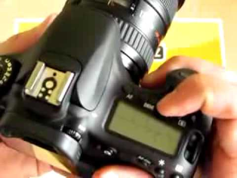 Videorecenze Canon EOS 60D tělo