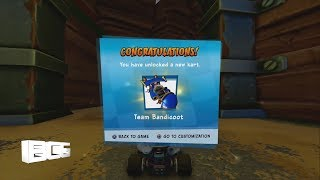 Sewer Speedway All Trophy, Relic and Token Races Adventure Crash Team Racing Nitro Fueled