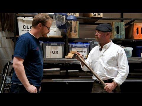 Jamie Hyneman On Welding in His Workshop - UCiDJtJKMICpb9B1qf7qjEOA