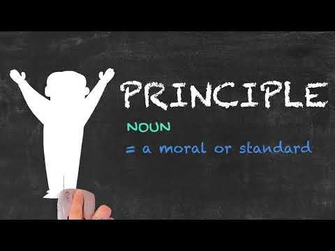 Principal vs Principle - English Grammar - Teaching Tips