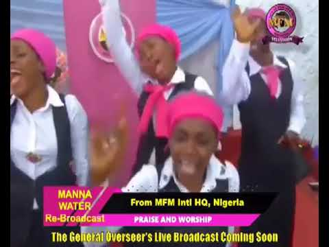 FRENCH MFM SPECIAL MANNA WATER SERVICE WEDNESDAY MAY 13th 2020