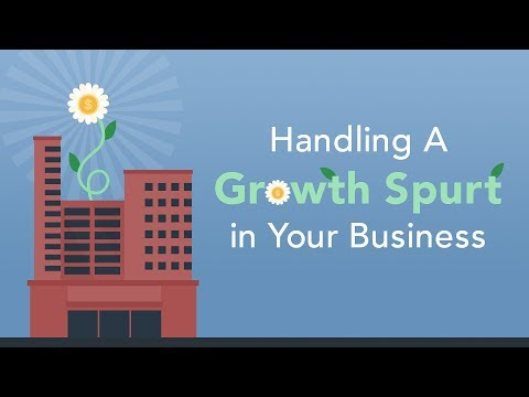 Ways to Handle a Sudden Growth Spurt  Brian Tracy