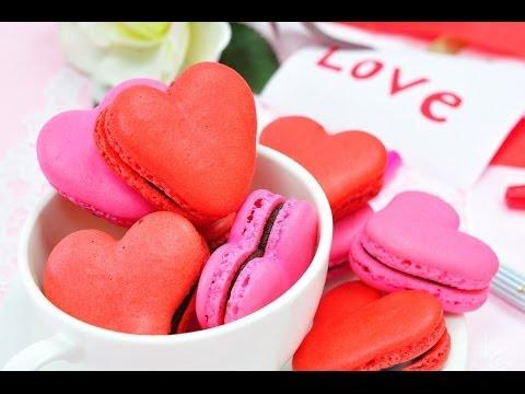 มาการองรูปหัวใจ | Love Macaron | Heart Macaron - UCZiboBUA0U1tn31MyHoMYLQ
