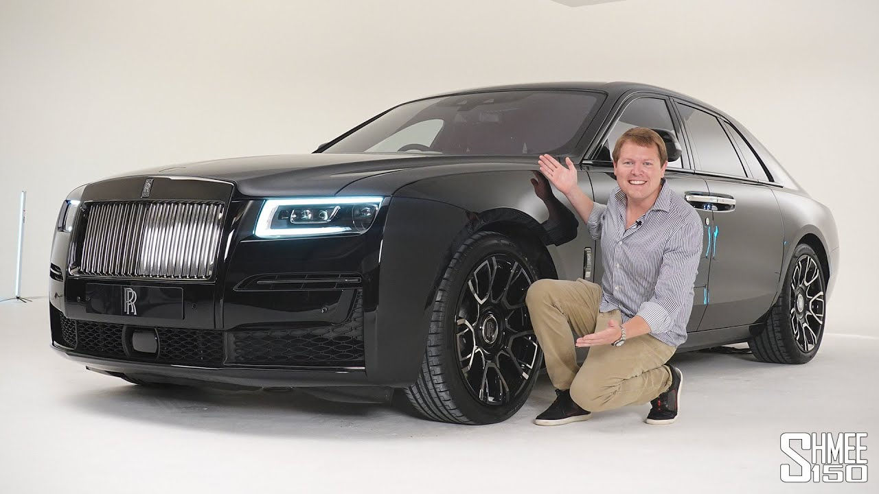 Check Out the New Rolls-Royce GHOST BLACK BADGE! | FIRST LOOK