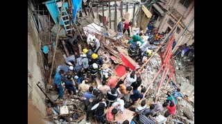 Mumbai: 2 dead &  40 trapped as 4 storey building crumpled