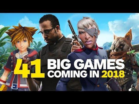 41 Big Games Coming in 2018 - UCKy1dAqELo0zrOtPkf0eTMw
