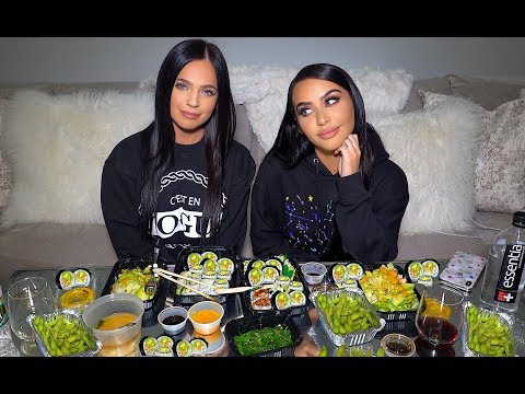 VEGAN SUSHI MUKBANG Q&A | Eat Dinner with Me! - UC21yq4sq8uxTcfgIxxyE9VQ