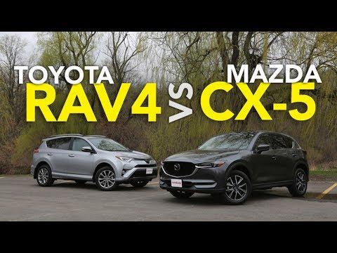 2017 Toyota RAV4 vs 2017 Mazda CX-5 Comparison - UCV1nIfOSlGhELGvQkr8SUGQ