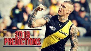2019 AFL Predictions