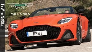 2020 Aston Martin DBS Superleggera Volante | Cosmos Orange | Driving, Interior, Exterior