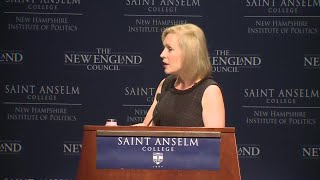 Raw: Kirsten Gillibrand delivers remarks at 'Politics and Eggs' event