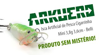 Isca Artificial de Pesca Cigarrinha Mini 3,8 G 3,6 cm Belli - Arkuero