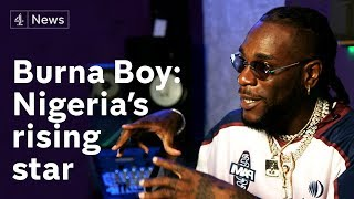 Burna Boy on working with Beyoncé and being one of Africa's biggest rising stars