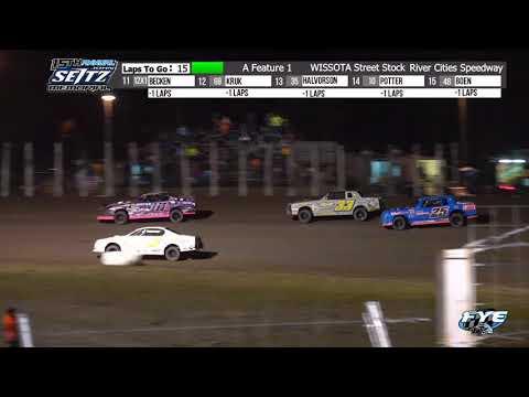 River Cities Speedway 9/11/21 WISSOTA Street Stock Feature - dirt track racing video image