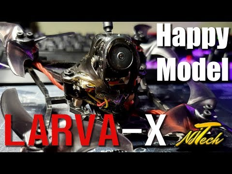 Happy Model - Larva X | Review | Freestyle Flight Test! | Toothpick Class - UCpHN-7J2TaPEEMlfqWg5Cmg