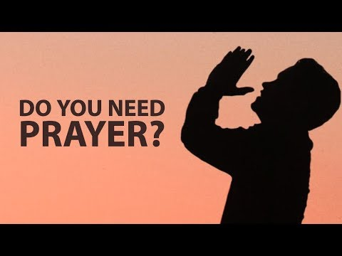 Do You Need Prayer? My Intercessors Are Standing By