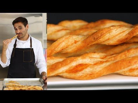 The Trick to Perfect Parmesan Straws - Kitchen Conundrum with Thomas Joseph