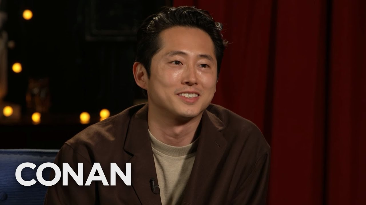 #CONAN: Steven Yeun Full Interview – CONAN on TBS