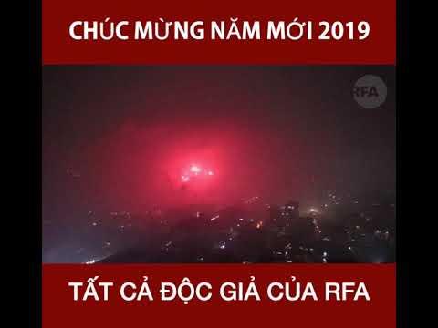 Chúc mừng năm mới 2019 các độc giả của RFA