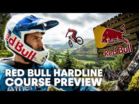 This isn't Racing, This is Surviving   Red Bull Hardline Course Preview 2019 - UCXqlds5f7B2OOs9vQuevl4A