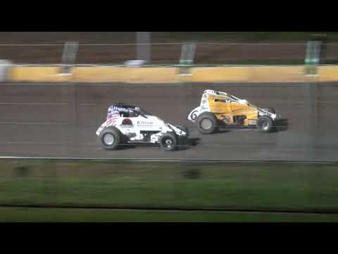 UMSS Traditional Sprint Feature - Cedar Lake Speedway 09/11/2021 - dirt track racing video image