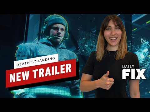 New Death Stranding Promo Trailer - The Daily Fix - UCKy1dAqELo0zrOtPkf0eTMw