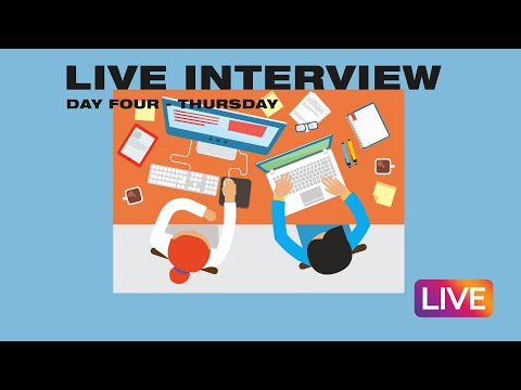 Internship Live Stream  Day Four