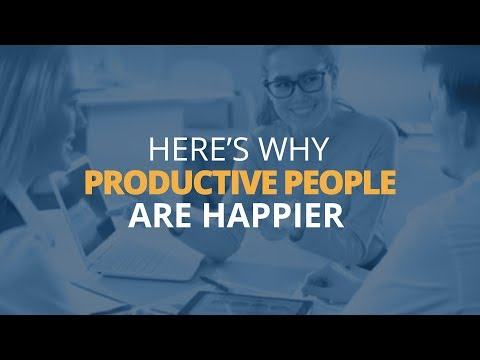 Why Productive People Are Happier People  Brian Tracy